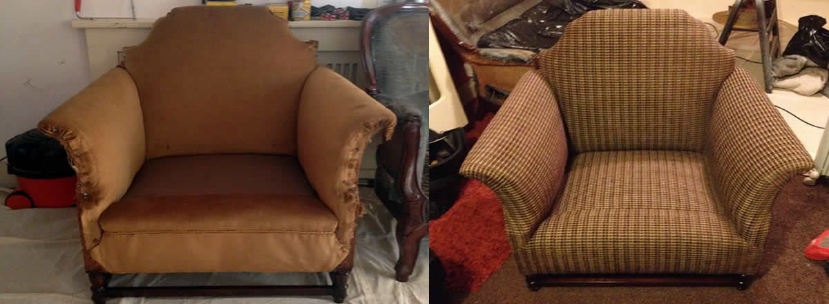 upholstery repair and recovering